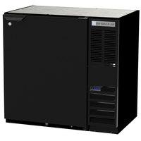 Beverage-Air BB36HC-1-B 36 inch Black Solid Door Back Bar Refrigerator