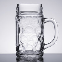 Libbey 12029521 16.75 oz. Oktoberfest Customizable Beer Mug - 12/Case