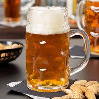 Libbey 12030021 33.875 oz. (1 liter) Oktoberfest Customizable Beer Mug - 6/Case