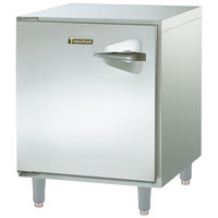 Traulsen ULT27-L-SB 27 inch Undercounter Freezer with Left Hinged Door and Stainless Steel Back - 7.1 Cu. Ft.