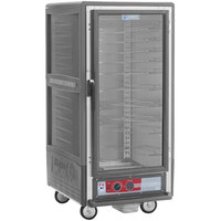 Metro C537-HFC-U-GY C5 3 Series Heated Holding Cabinet with Clear Door - Gray