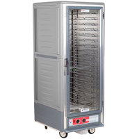 Metro C539-HFC-U-GY C5 3 Series Heated Holding Cabinet with Clear Door - Gray