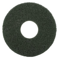Scrubble by ACS 55-10 Type 55 10 inch Green Scrubbing Floor Pad - 5/Case