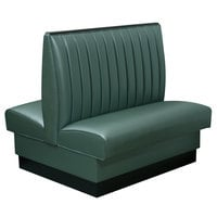 American Tables & Seating AD-4212-D 30 inch Double Deuce 8 Channel Back Upholstered Booth