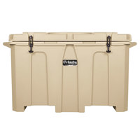Grizzly Cooler Tan 400 Qt. Extreme Outdoor Merchandiser / Cooler