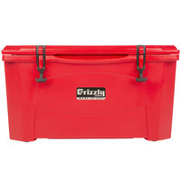 Grizzly Cooler Red 60 Qt. Extreme Outdoor Merchandiser / Cooler