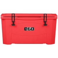 Red 60 Qt. Extreme Outdoor Grizzly Merchandiser / Cooler