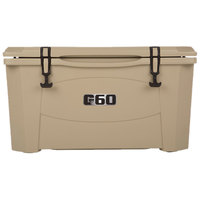 Tan 60 Qt. Extreme Outdoor Grizzly Merchandiser / Cooler