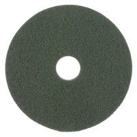 Scrubble by ACS 55-17 Type 55 17 inch Green Scrubbing Floor Pad - 5/Case