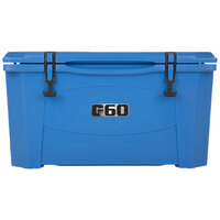 Blue 60 Qt. Extreme Outdoor Grizzly Merchandiser / Cooler