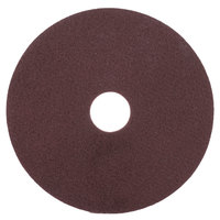 Scrubble by ACS 47-17 17 inch Maroon Thin Line Conditioning Floor Pad - Type 47 - 10/Case