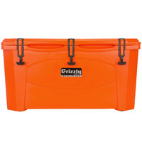 Grizzly Cooler Orange 60 Qt. Extreme Outdoor Merchandiser / Cooler