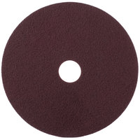 Scrubble by ACS 47-20 20 inch Maroon Thin Line Conditioning Floor Pad - Type 47 - 10/Case