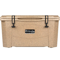 Grizzly Cooler Sandstone 60 Qt. Extreme Outdoor Merchandiser / Cooler