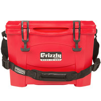 Grizzly Cooler Red 15 Qt. Extreme Outdoor Merchandiser / Cooler