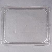 Carlisle 10236U07 StorPlus 1/2 Size Clear Universal Flat Lid