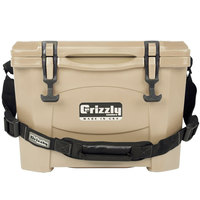 Grizzly Cooler Tan 15 Qt. Extreme Outdoor Merchandiser / Cooler
