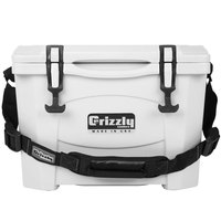 Grizzly Cooler White 15 Qt. Extreme Outdoor Merchandiser / Cooler
