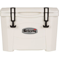 White 16 Qt. Extreme Outdoor Grizzly Merchandiser / Cooler