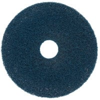 Scrubble by ACS 75-17 17 inch Midnight Blue Super Stripping Floor Pad - Type 75 - 5/Case