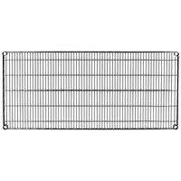 Metro 2454NBL Super Erecta Black Wire Shelf - 24 inch x 54 inch