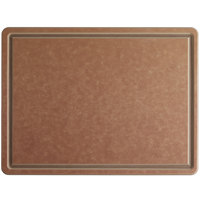 San Jamar TC152012GV Tuff-Cut® 20 inch x 15 inch x 1/2 inch Grooved Cutting Board