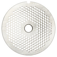 Hobart 22PLT-3/16C #22 3/16 inch Carbon Steel Grinder Plate for 4822 Meat Choppers and Chopping Ends
