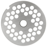 Hobart 12PLT-1/4S #12 1/4 inch Stay Sharp Grinder Plate for 4812 Meat Choppers and Chopping Ends