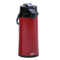 Curtis TLXA2206G000 2.2 Liter Red Lever Airpot with Glass Liner