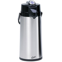 Curtis TLXA2201S000 2.2 Liter Stainless Steel Lever Airpot with Liner