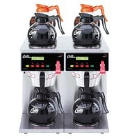 Curtis ALP6GTN63A000 12 Cup Twin Coffee Brewer with 4 Upper and 2 Lower Warmers - 120/220V