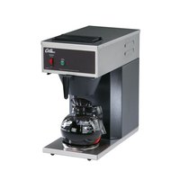 Curtis CAFE1DB10A000 12 Cup Pourover Coffee Brewer with 1 Lower Warmer - 120V