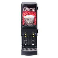 Curtis Cafe Series Primo PC2 Cappuccino Machine with Two Hoppers and Sign - 120V