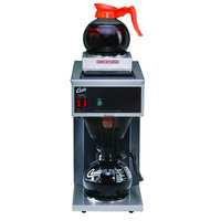 Curtis CAFE2DB10A000 Pourover Commercial Coffee Maker with 2 Warmers - 120V