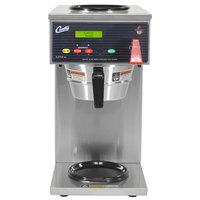 Curtis ALP2GT12A000 12 Cup Coffee Brewer with 1 Lower and 1 Upper Warmer - 120V