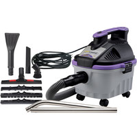 ProTeam 107128 4 Gallon ProGuard 4 Portable Wet / Dry Vacuum Cleaner with Tool Kit - 120V