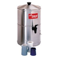 Curtis SW-2 Stainless Steel 2 Gallon Syrup Warmer - 120V