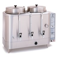 Curtis RU-600-35 Natural Gas Automatic Twin 6 Gallon Coffee Urn