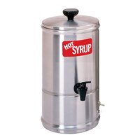Curtis SW-1 Stainless Steel 1 Gallon Syrup Warmer - 120V