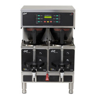 Curtis GEMTS19A1000 G3 Gemini Twin 1.5 Gallon Coffee Satellite Brewer - 220V, 4 Wire 3 Phase