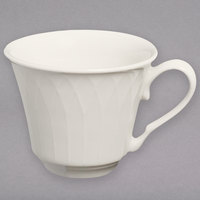 Homer Laughlin HL3277000 Gothic 3.25 oz. Ivory (American White) Undecorated China Cup - 36/Case