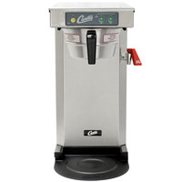 Curtis TLP12A19 Low Profile 19 inch Automatic Airpot Brewer with Stainless Steel Finish - 120V, 1500W