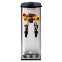 Curtis TCC2C Dual Faucet Liquid Iced Coffee Dispenser