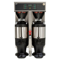 Curtis TP15T10A1500 ThermoPro Twin 3 Gallon Coffee Brewer with Shelf - 220V