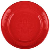 Tuxton CQA-074 Concentrix 7 1/2 inch Cayenne China Plate   - 24/Case