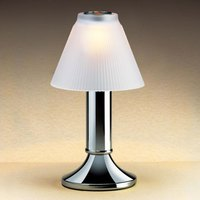 Sterno Products 85198 Paige Chrome Fine Dining Lamp Base