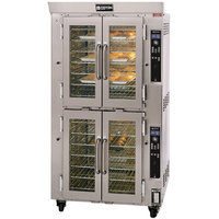 Doyon JA14G Jet Air Natural Gas Double Deck Bakery Convection Oven - 240V, 130,000 BTU