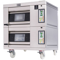 Doyon 1T2 Artisan 2 Stone 18 1/2 inch Deck Oven - 2 Pan Capacity, 208V, 3 Phase