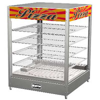 Doyon DRP4 22 3/8 inch Countertop Hot Food Merchandiser / Warmer with 4 Shelves - 120V