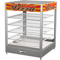 Doyon DRP4 22 3/8 inch Countertop Hot Food Merchandiser / Warmer with 4 Shelves - 120V